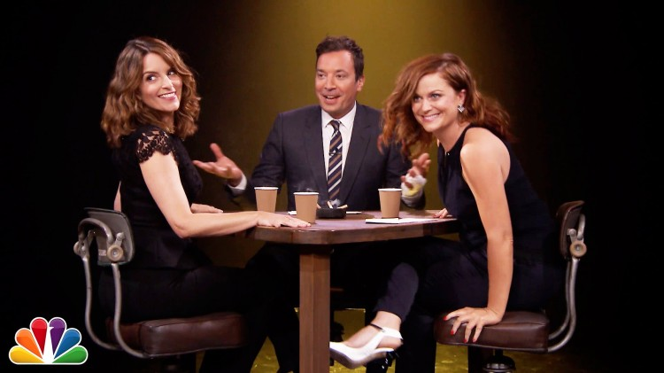 tina fey amy poehler and jimmy fallon play a hilarious game of 39 true confessions 39 on 39 the. Black Bedroom Furniture Sets. Home Design Ideas