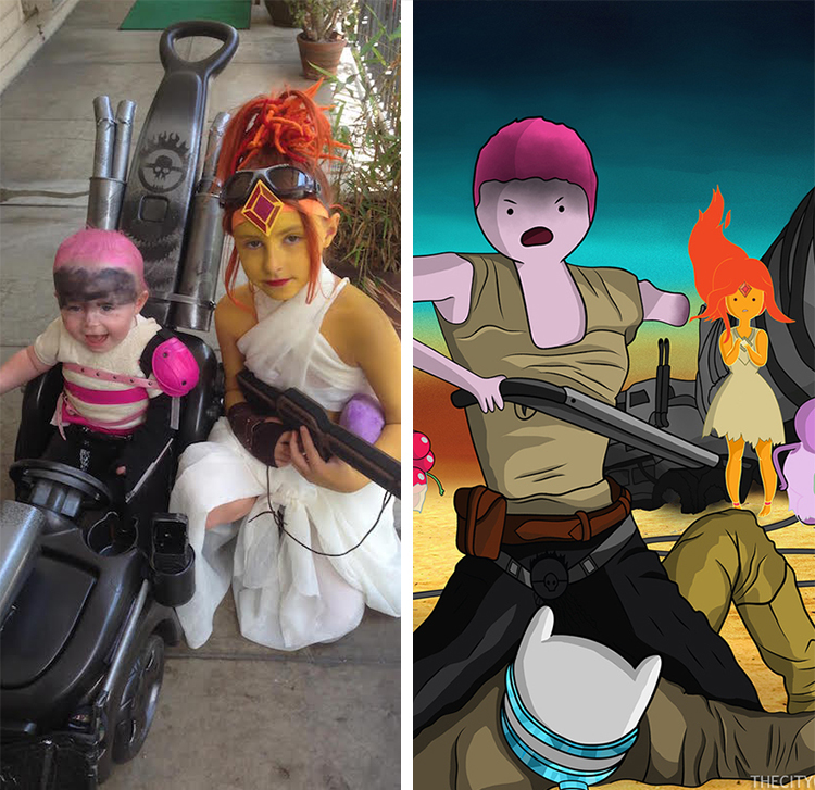 Mad Max Adventure Time Cosplay Kids