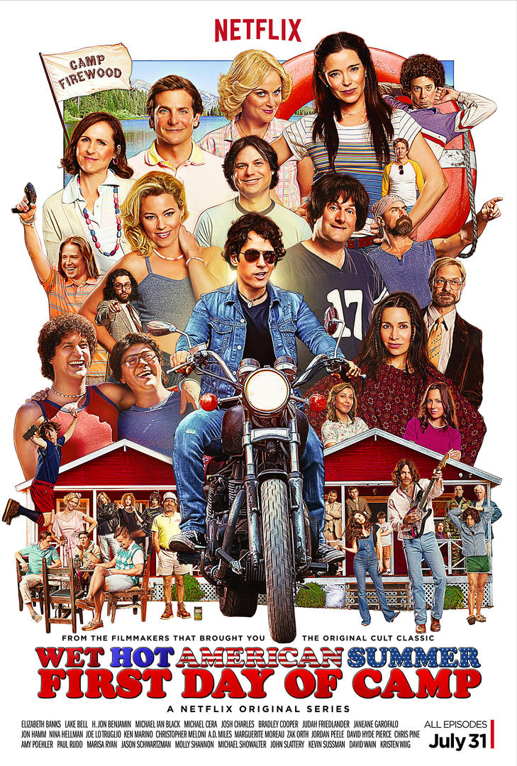 wet hot american summer first day of camp poster