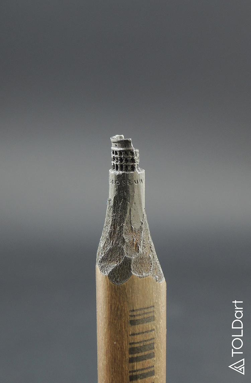 TOLDart Pencil Sculptures