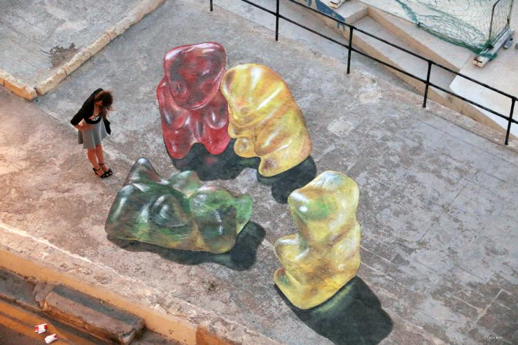 Giant 3D Gummy Bears