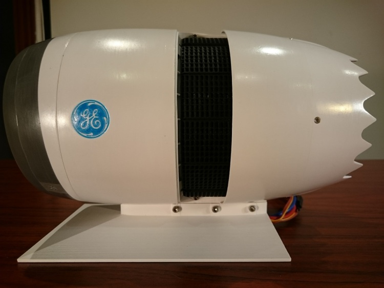 3D Printed Jet Engine Reverser