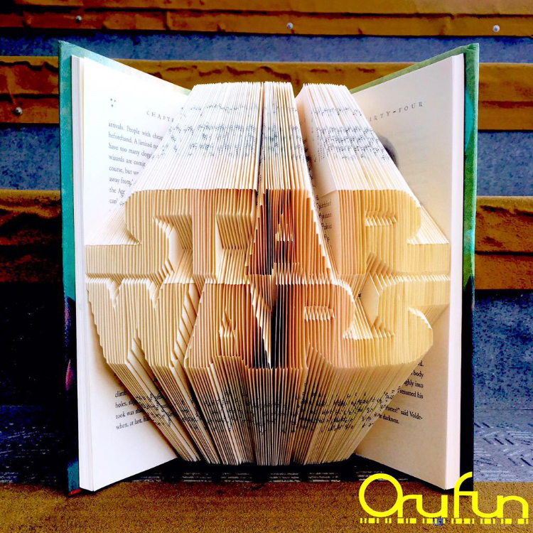 Orufun The Art Of Folding Book Pages To Create 3d