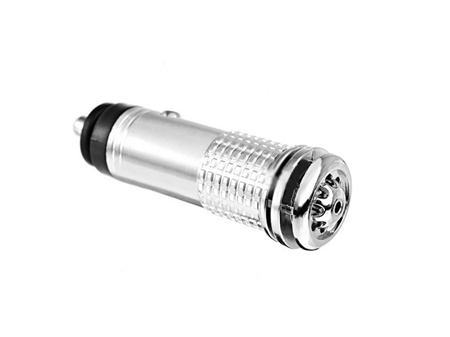 Car Plugin Air Purifier in silver
