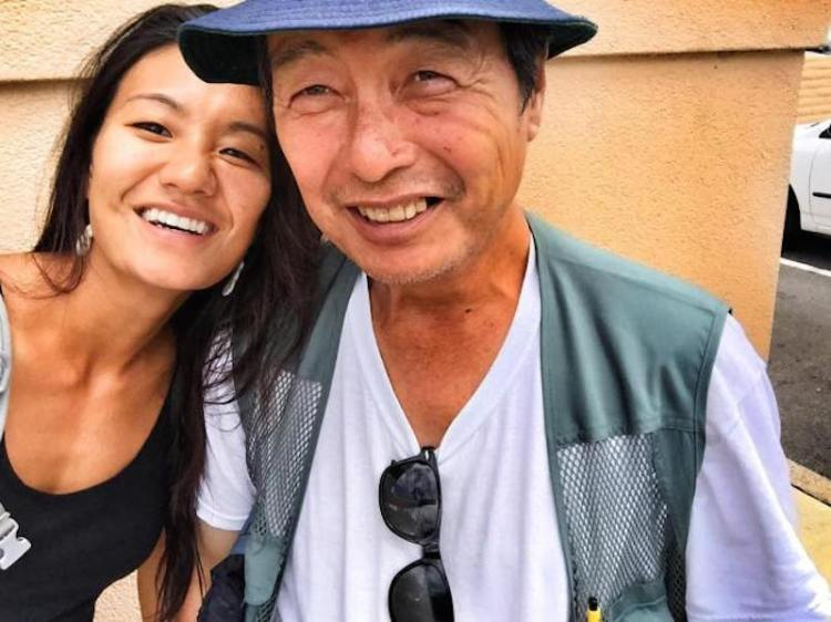Diana Kim and Father