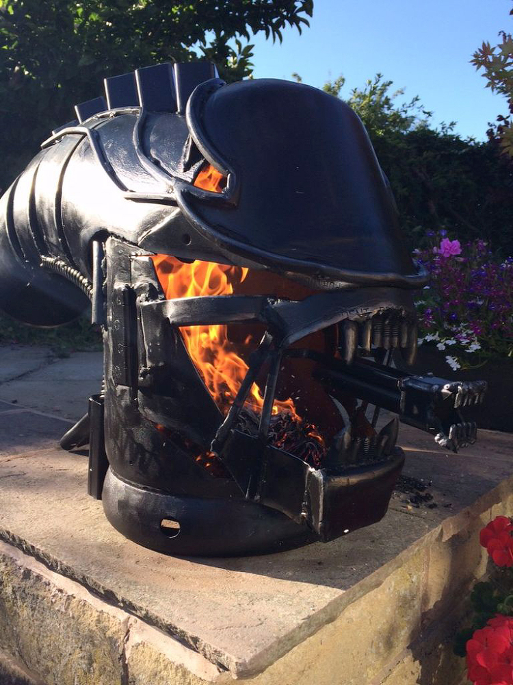 Alien Wood Burner