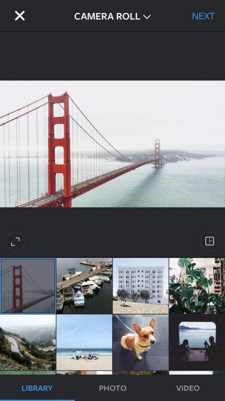 Instagram Landscape of Golden Gate Bridge