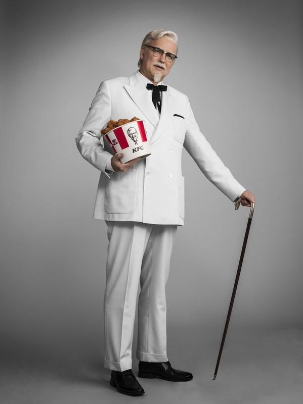Norm MacDonald Colonel Sanders standing