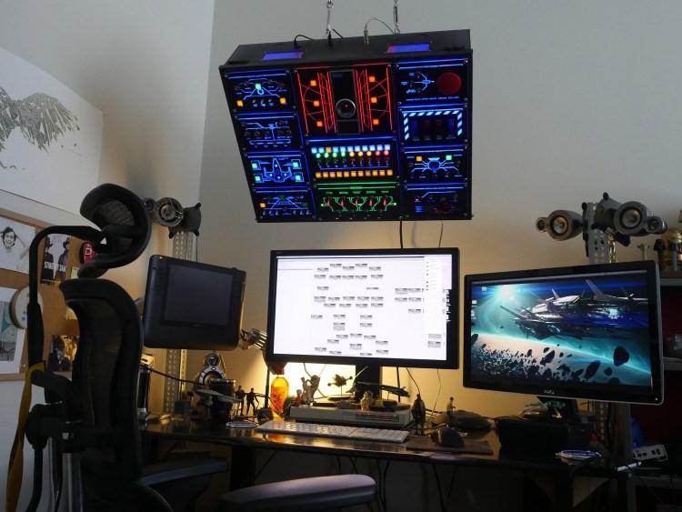 Overhead Control Console 1