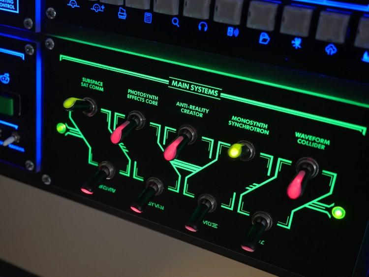 Overhead Control Console 2