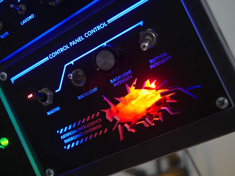 Overhead Control Console 4
