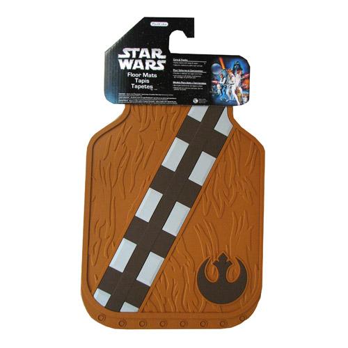 Rubber Star Wars Vehicle Floor Mats Featuring Boba Fett