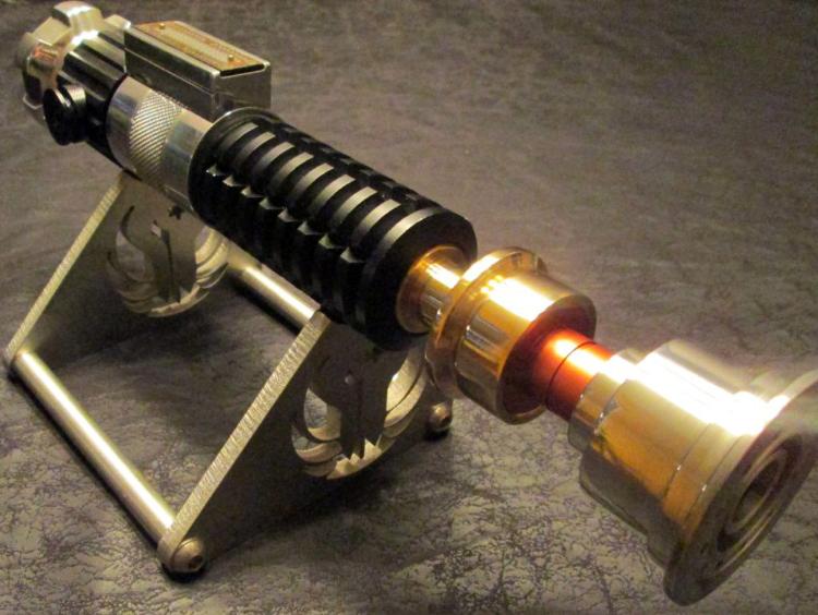Ignited Redeemer Custom Lightsaber