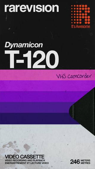 VHS Camcorder app box design