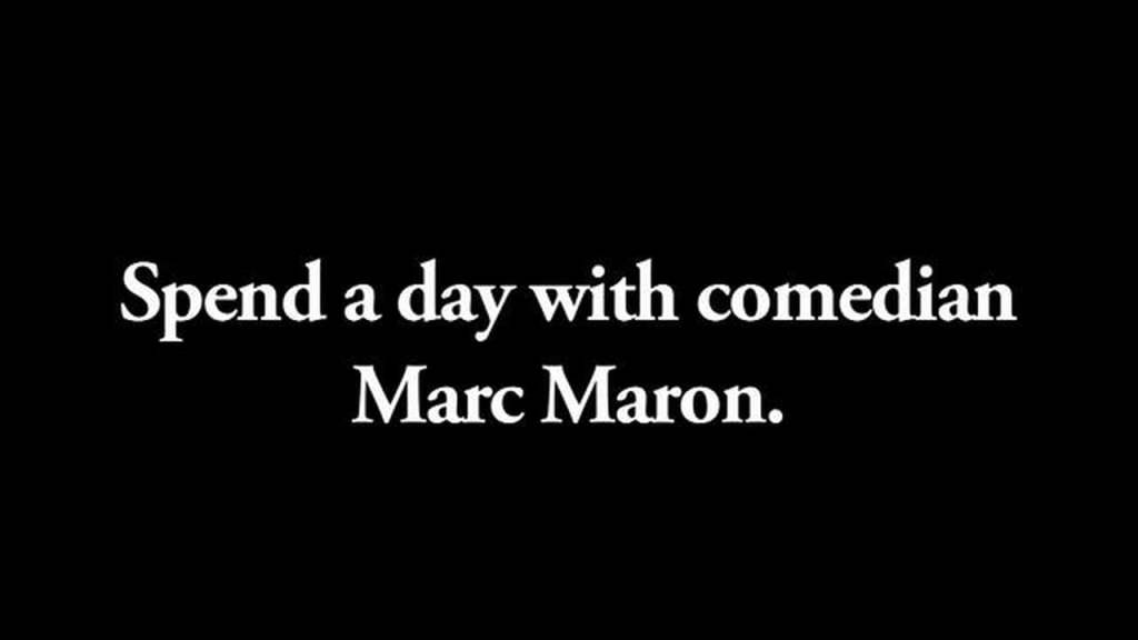 A Day in the Life of Marc Maron The Week After 9/11 in New York City