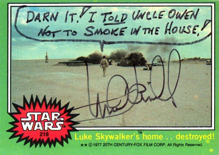 Mark Hamill Autographs