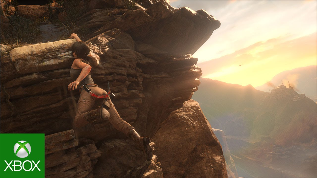 Beautiful Gameplay Video From the Upcoming Lara Croft Video Game 'Rise of the Tomb Raider'