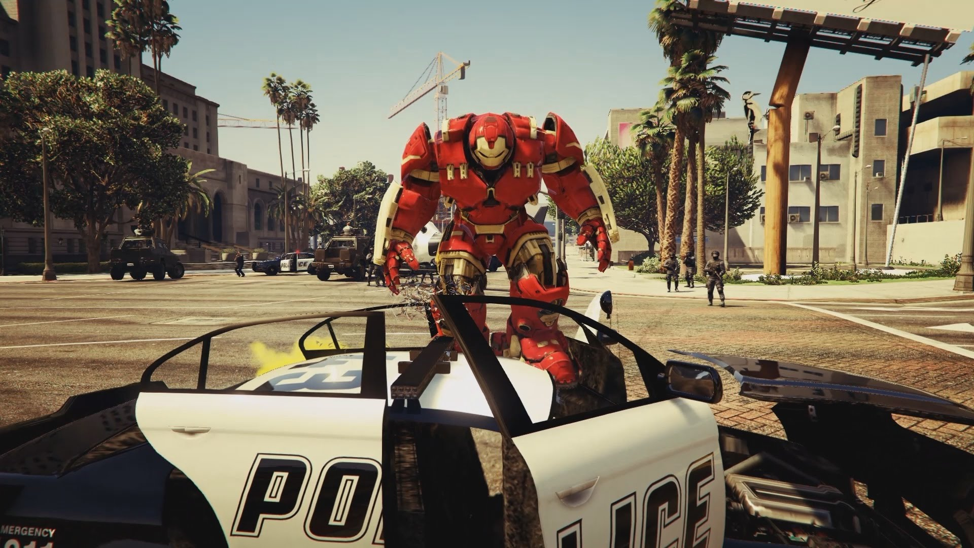 'Grand Theft Auto V' Hulkbuster Mod Lets Iron Man Rampage ...
