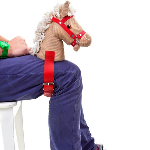 Strap On Horse Head
