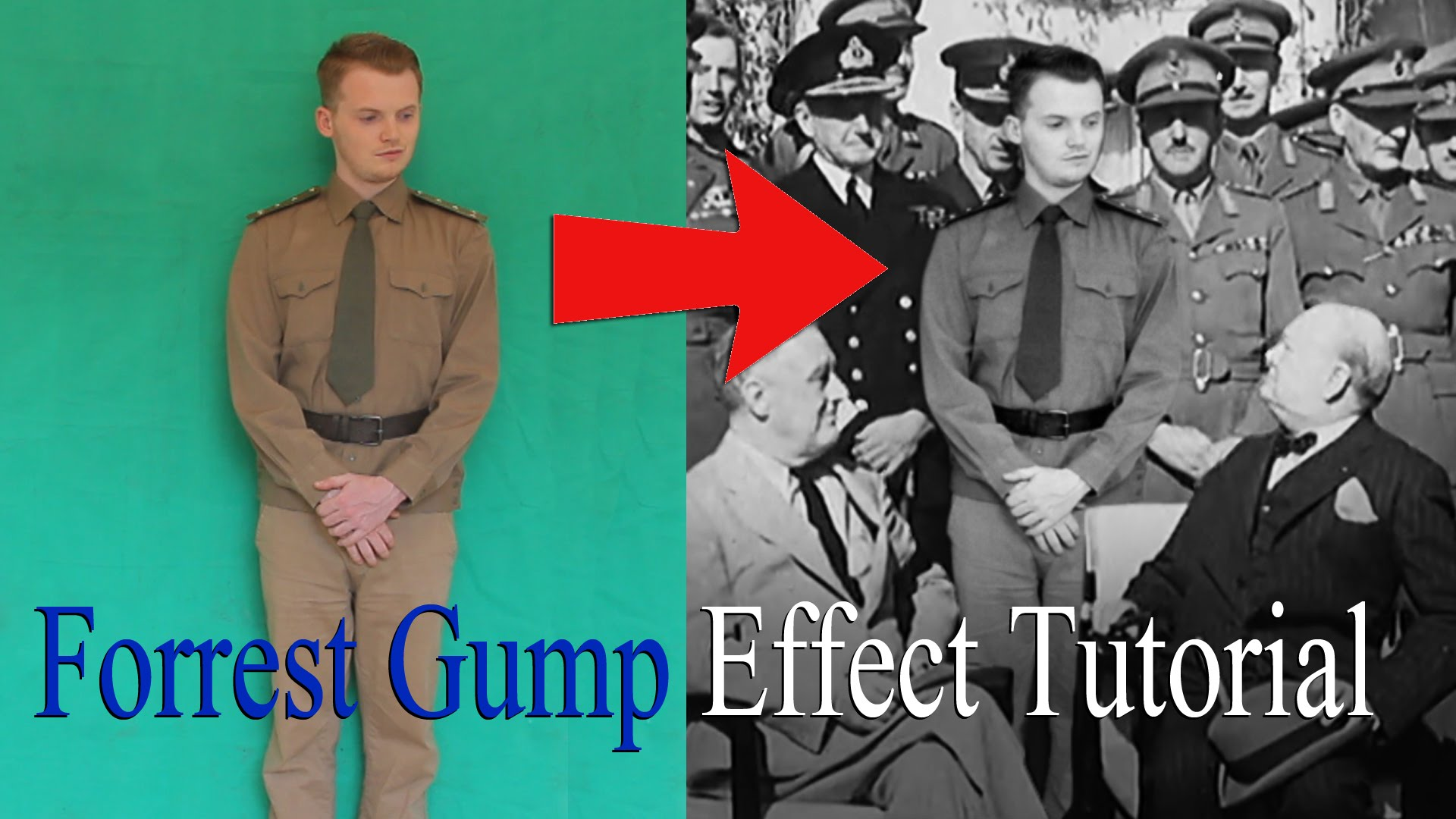 How to Add Yourself Into Historical Footage Using Adobe After Effects, Just Like in 'Forrest Gump'