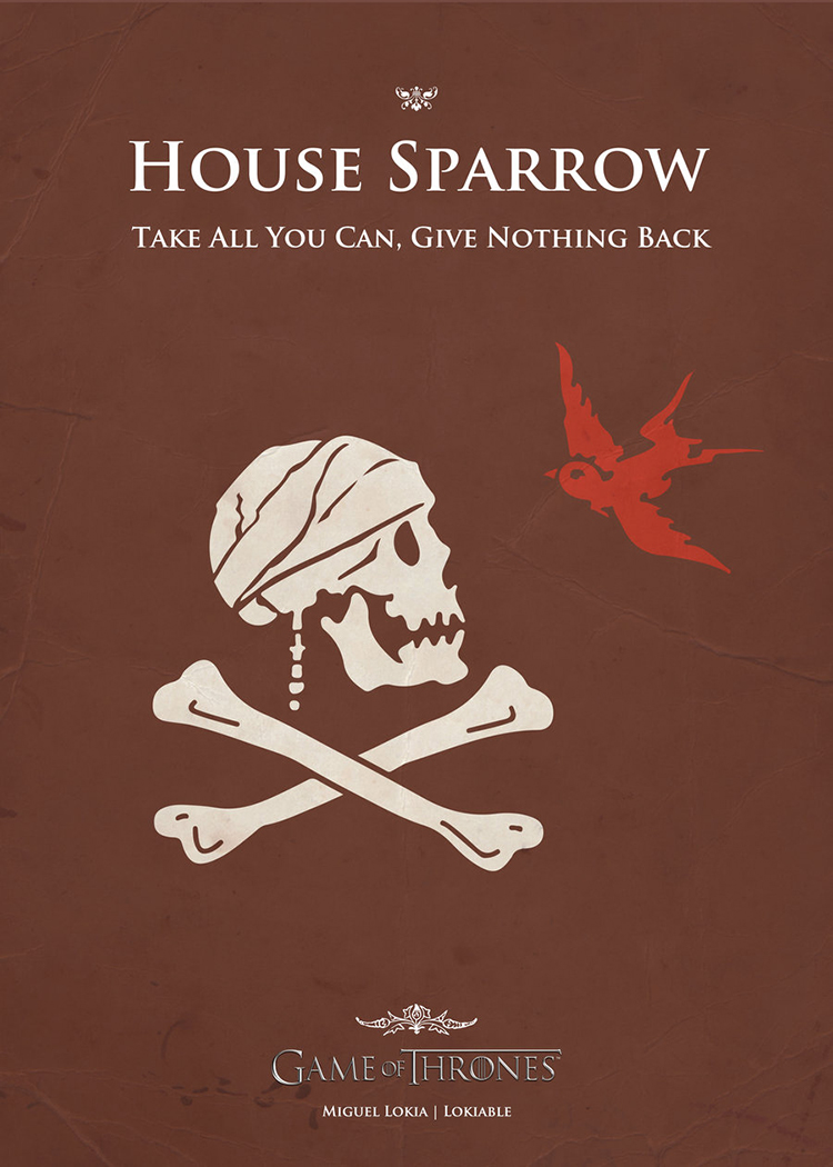 Poster Sparrow