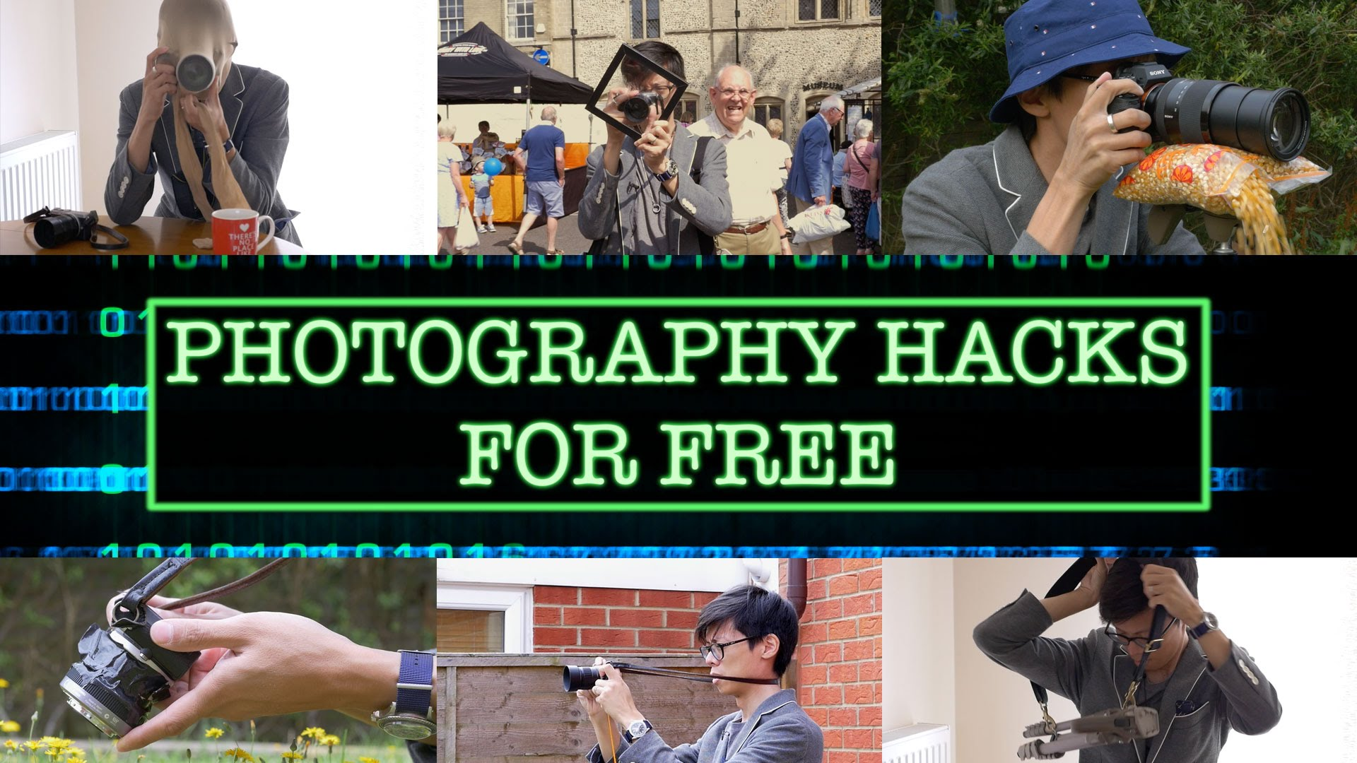 Simple and Free Photography Hacks Using Regular Household Items
