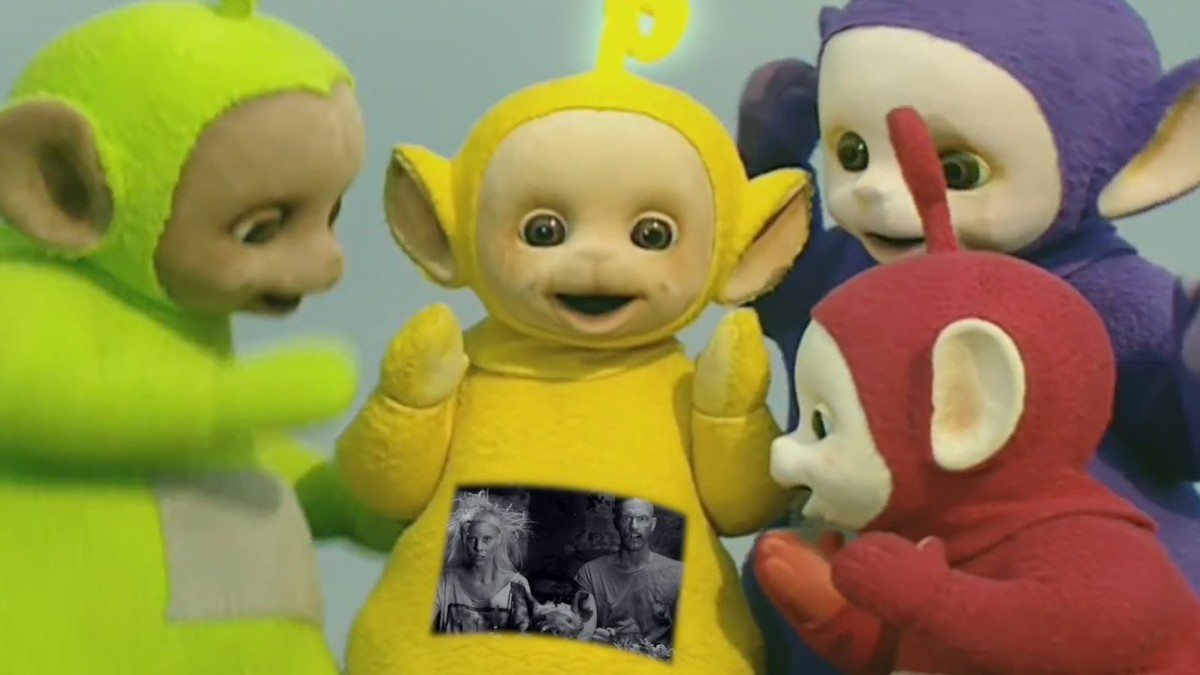 Teletubbies review surreal and sinister telegraph - The Teletubbies Perform I Fink You Freaky By Die Antwoord