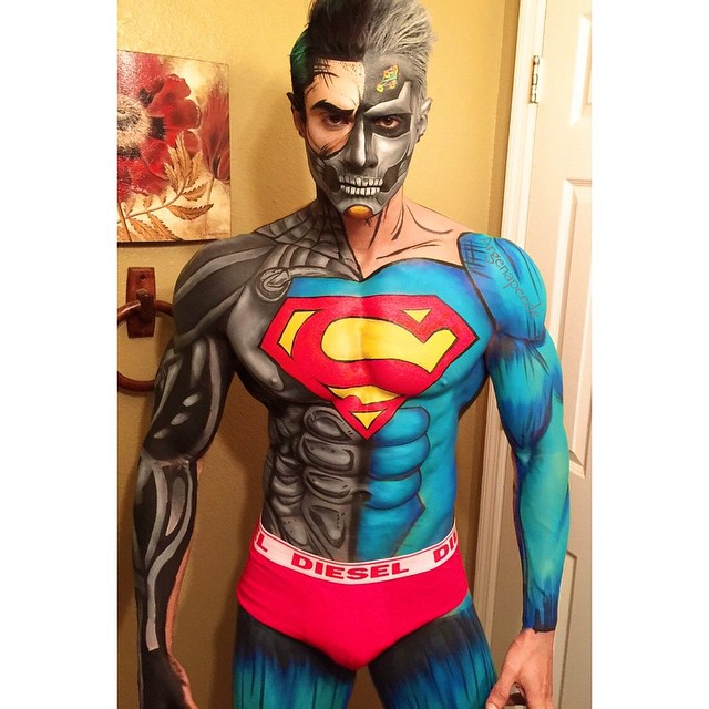 Cosmetologist Transforms People Into Amazing Looking Comic Book Heroes and Villains Using Only Makeup