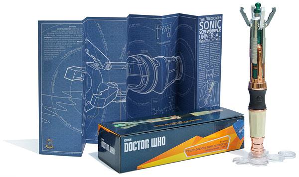 12th Doctor Sonic Screwdriver Remote Box