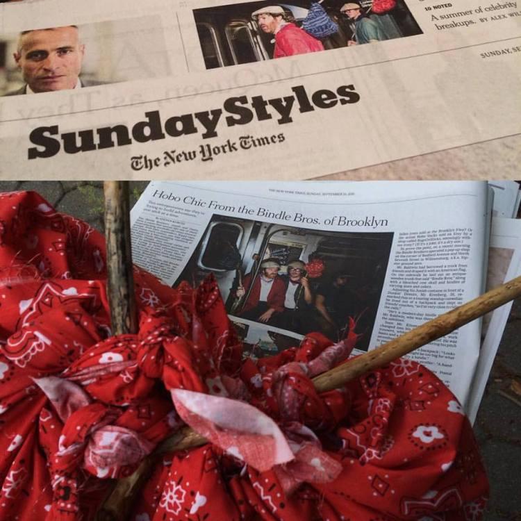 Bindle Bros NYT Style Profile