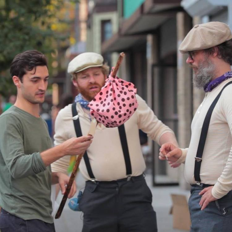 Bindle Bros Pink Polka Dot Bindle