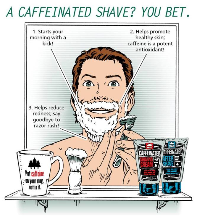 Caffeinated Shave