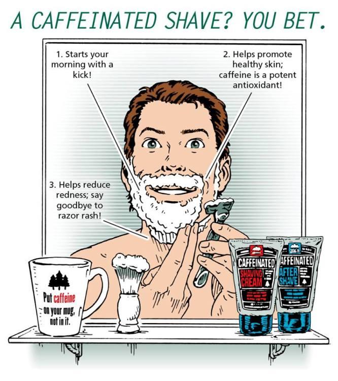 Caffeinated Shave