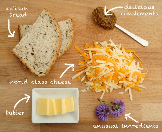 Cheese Posties Ingredients