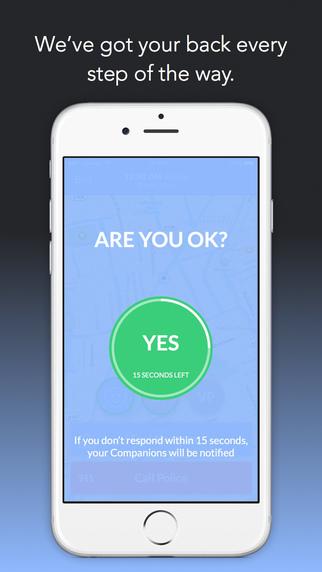 Companion App Are You Okay