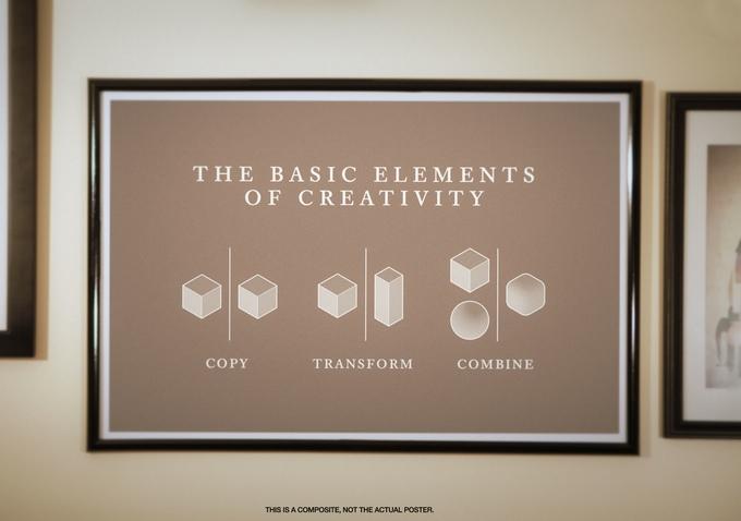 Copy Transform Combine Poster