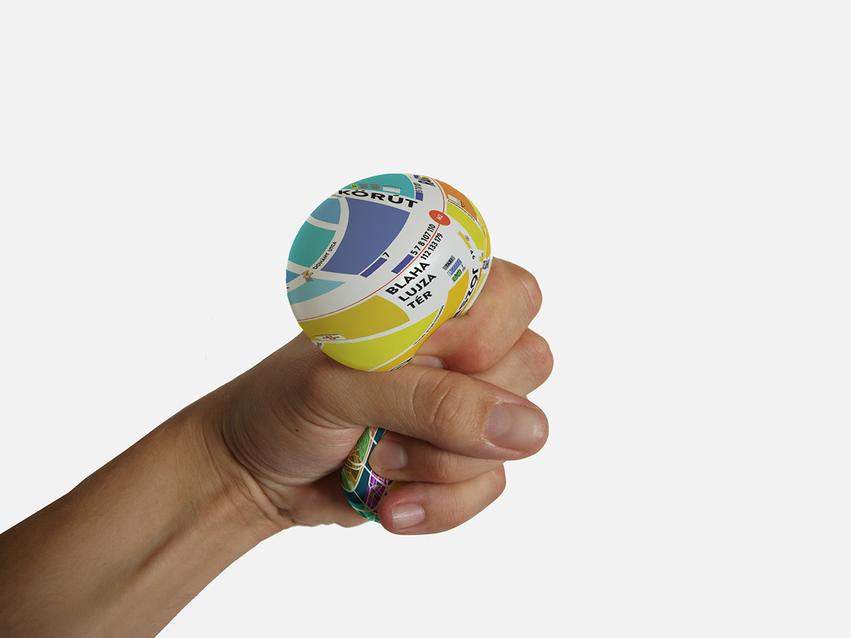 EggMap Stress Ball