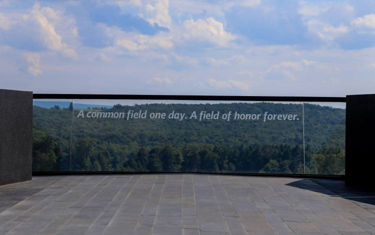 Flight 93 Memorial Field of Honor