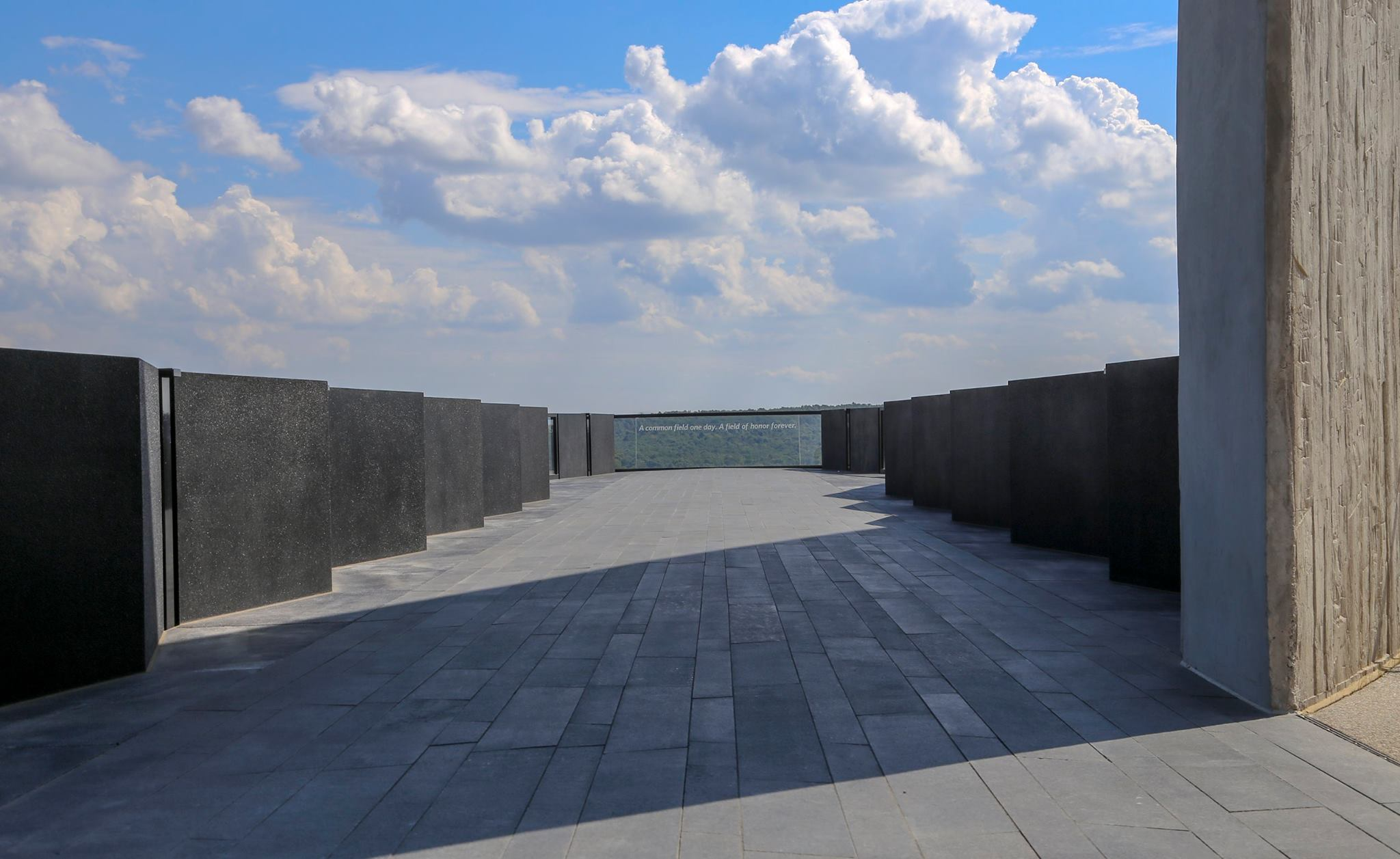 Flight 93 National Memorial Walkway