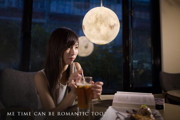 Hanging Luna Lamp