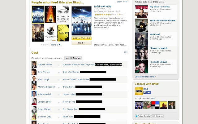 IMDB Hide Spoiler Extension