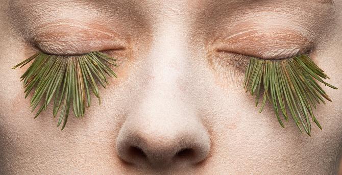 Natural Eyelashes Front
