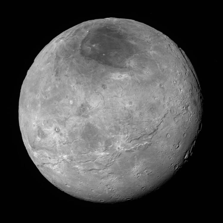 New Horizons image Charon