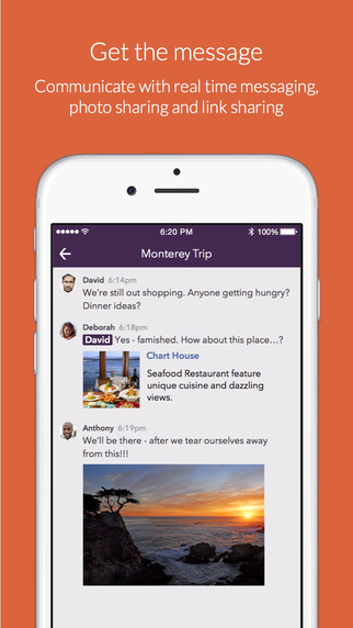 Pingpad Screenshot Messages