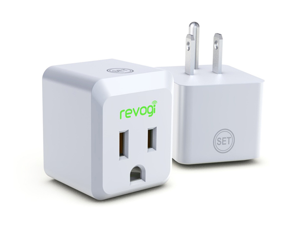 Smartphone Controlled Outlet the revogi 'smart meter' bluetooth outlet, a device for