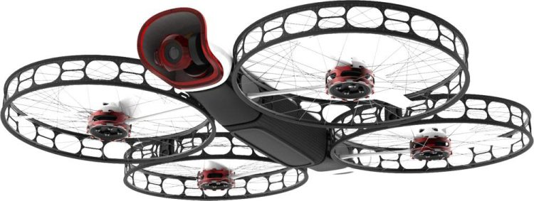 Snap Camera Drone From Below
