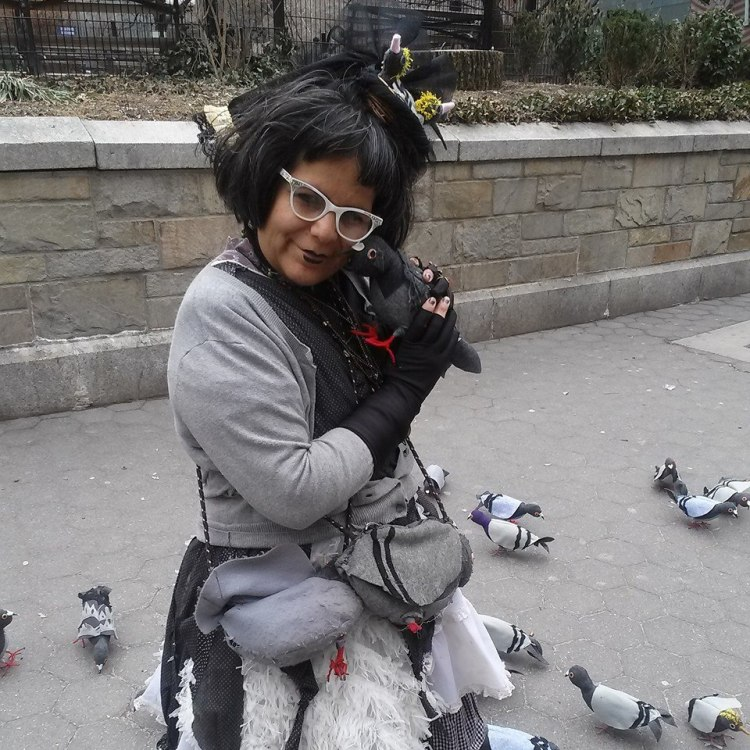 Tina and Pigeon