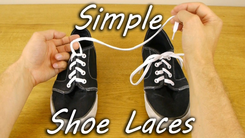 A Simple Technique For Teaching Children How To Tie Their Shoelaces
