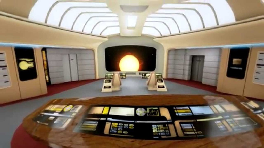 A Virtual Tour Of The USS Enterprise NCC-1701-D Made In