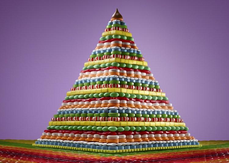 Candy Pyramid